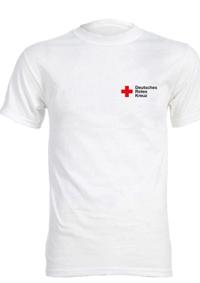 T-Shirt weiß mit Kompaktlogo