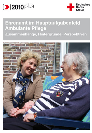 DRK-Broschüre Ehrenamt in der ambulanten Pflege