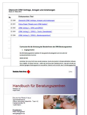 CRM-Verträge, das neue Curriculum und das Handbuch für Beratungszentren
