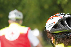 Fahrradstaffel - Ihr Browser unterdrückt die Anzeige der Bilder. Bitte Grafiken zulassen oder Bilder anzeigen lassen.