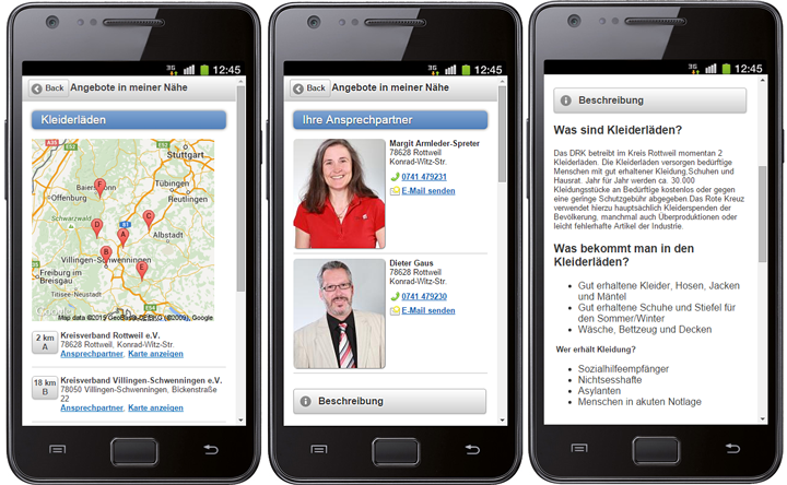 Rotkreuz-App für iPhone und Android - Ihr Browser unterdrückt die Anzeige der Bilder. Bitte Grafiken zulassen oder Bilder anzeigen lassen.