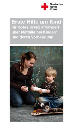 Faltblatt Erste Hilfe am Kind VE = 50 Stück