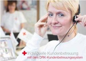 Broschüre DRK-Kundenbetreuungssystem