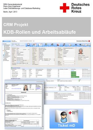Rollen und Arbeitsabläufe zu den Workflows der KDB angefertig