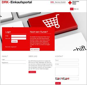 Das DRK-Einkaufsportal
