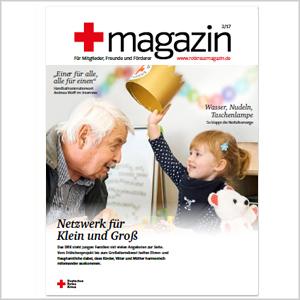 Cover rotkreuzmagazin
