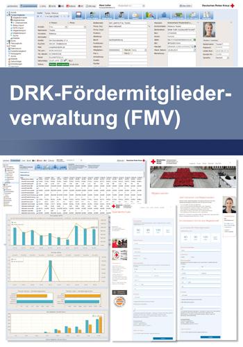 Fördermitgliederverwaltung der Kundendatenbank