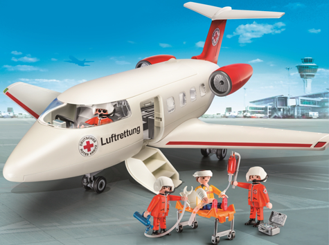 PLAYMOBIL - Bild zu Spielset 9534 DRK-Rettungsflugzeug