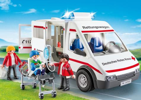 PLAYMOBIL - Bild zu Spielset 9535  DRK-Rettungswagen
