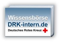 DRK Wissensbörse Logo - Bitte Grafiken zulassen!