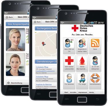 Die neue Rotkreuz-App MeinDRK