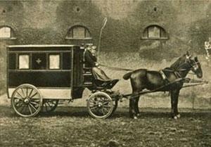 Rot-Kreuz-Pferdewagen 1880