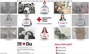 Startseite 150 Jahre Rotes Kreuz in Deutschland