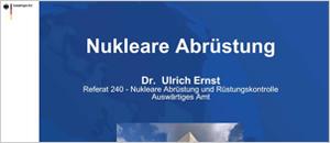 Nukleare Abrüstung