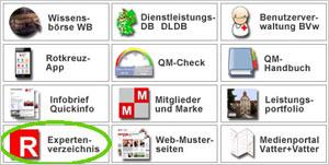 Zugang zum Expertenverzeichnis. Bitte Bilder downloaden, ggfs. rechte Mousetaste nutzen