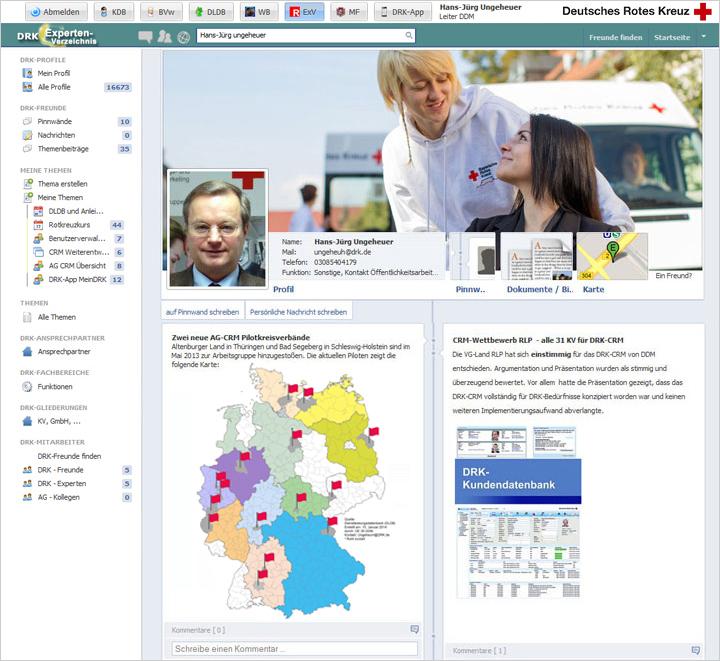 DRK Rotbook Profilübersicht. Bitte Bilder downloaden, ggfs. rechte Mousetaste nutzen