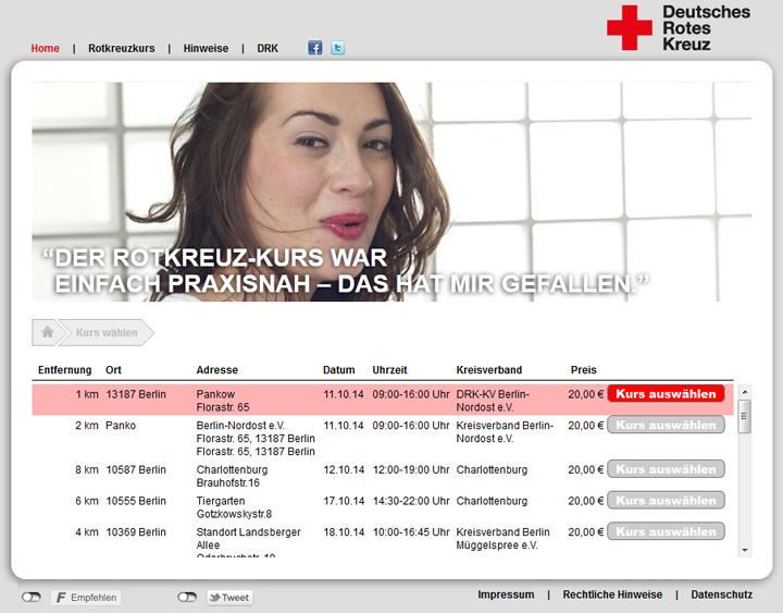 LSM-Kurse auf Rotkreuzkurs.de