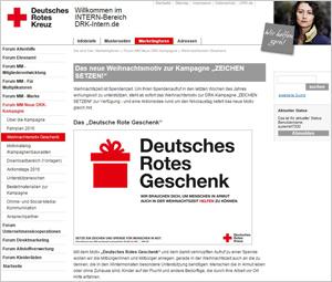 Marketing Forum Weihnachtsmotiv Geschenk