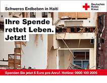 Spenden für Haiti